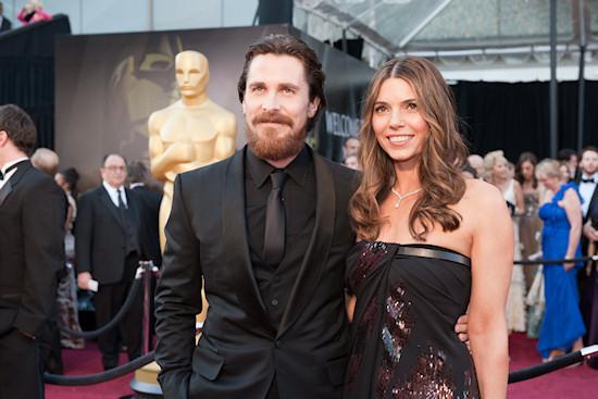 Oscars 2011: Christian Bale & Sibi Bale