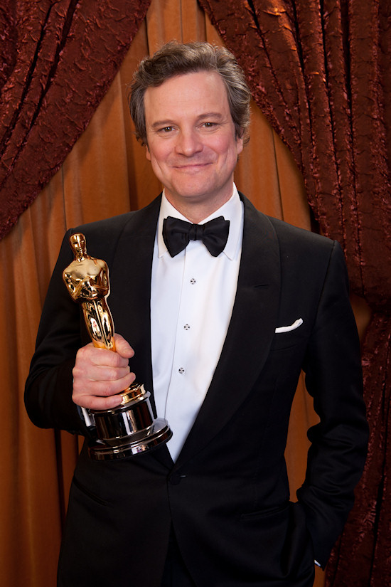 Oscars 2011 Colin Firth