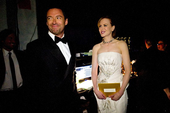 Oscars 2011: Nicole Kidman and Hugh Jackman