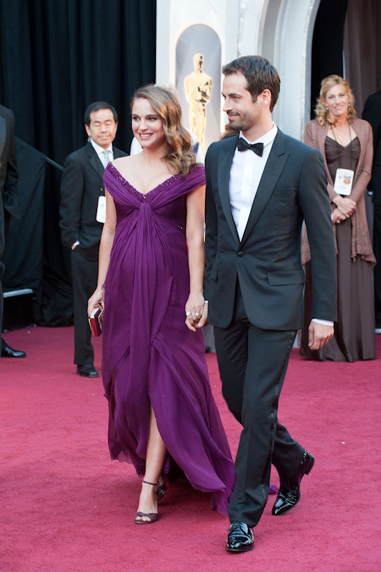 Oscars 2011: Natalie Portman with Benjamin Millepied