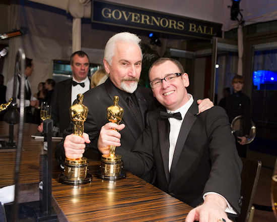 Oscars 2011 Rick Baker and Dave Elsey