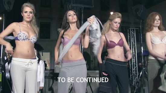 Palmers Lingerie Fashion Show @ Restaurant Artner