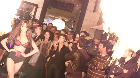 Palmers Lingerie Fashion Show: Fire Flare