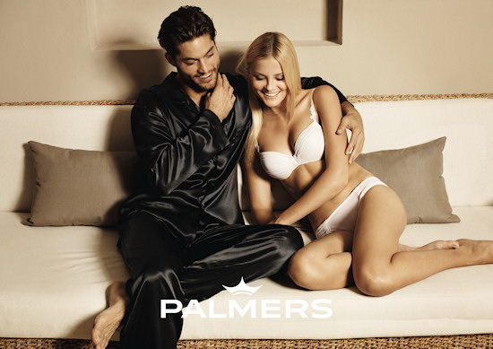 Palmers Lingerie Models Greg Kheel and Petra Silander