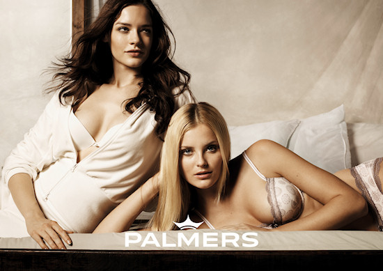Palmers Lingerie Models Isabel Neumair Petra Silander