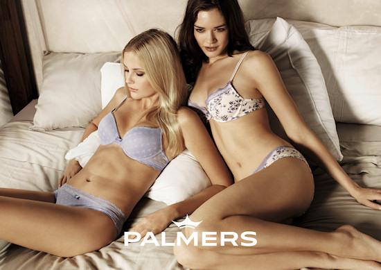 Palmers Lingerie Models Petra Silander Isabel Neumair