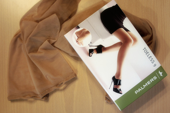 Palmers TOELESS pantyhose
