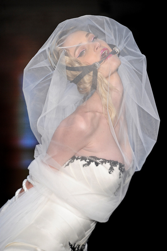 Samuel Cirnansck Wedding Dress Bride Gagged