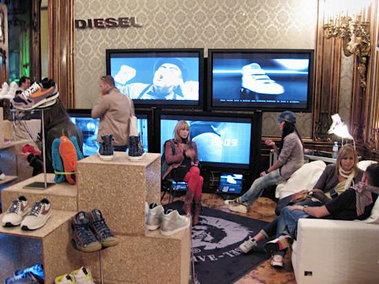 Sneakerness Vienna Diesel Booth
