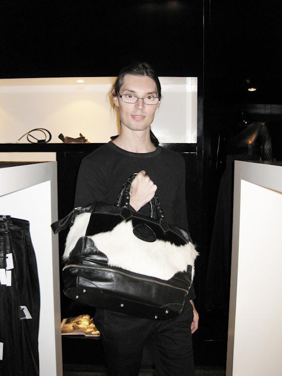 Gregor Gonsior Bag @ Tiberius
