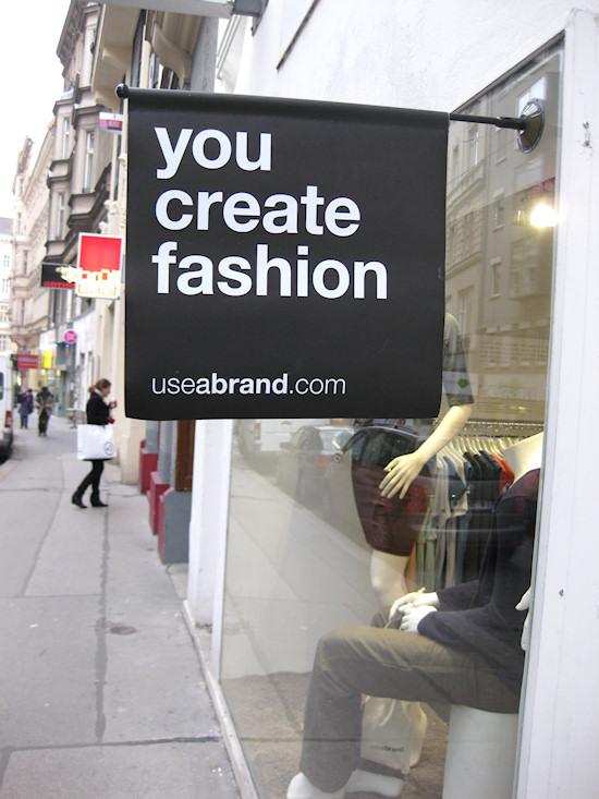 useabrand fashion store Zollergasse 15 Wien