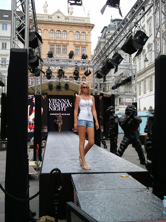 Vienna Fashion Night Jil Rehearsal