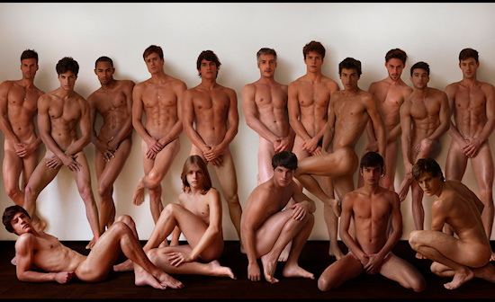 VMAN Male Model Citizens Bared Naked Brazil