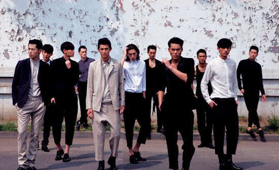 VMAN Male Model Citizens China Business Men