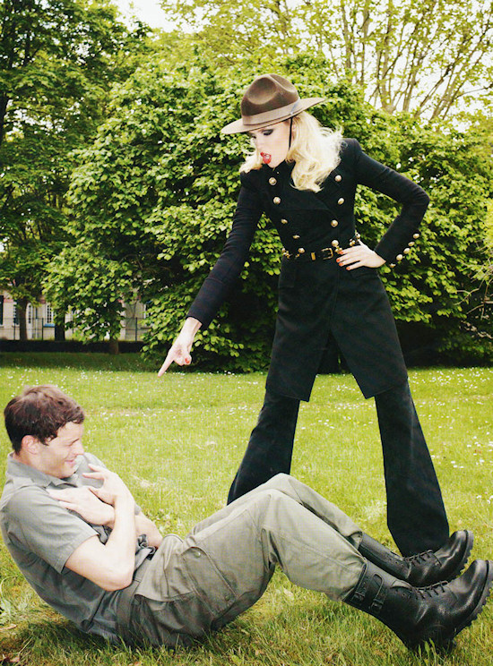 Corps d'Elite Natasha Poly & Jamie Dornan (c) Terry Richardson for Vogue Paris
