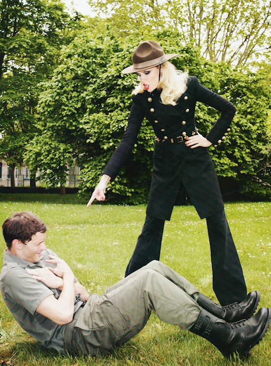 Corps d'Elite Natasha Poly & Jamie Dornan (c) Terry Richardson for Vogue Paris