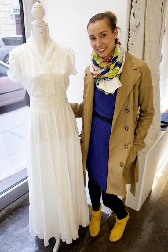 Caroline Stanzl Wedding Dress Saperlipopette