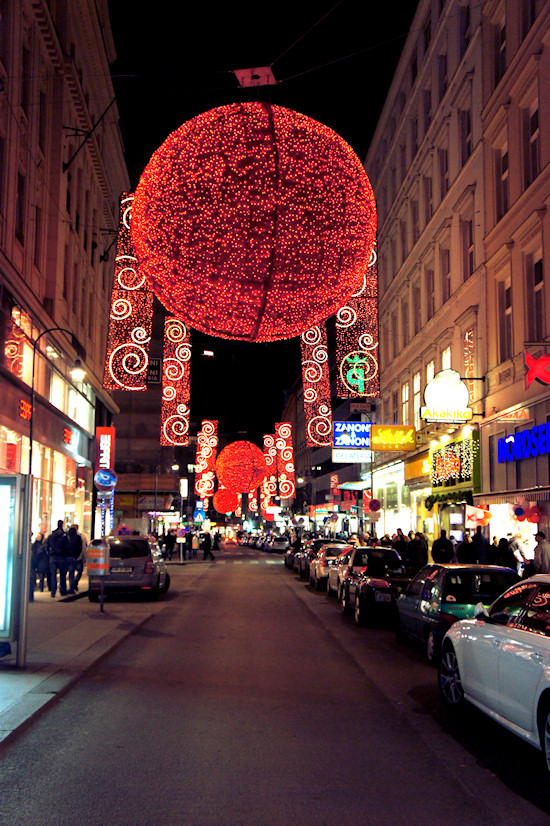 Xmas Lights Vienna: Rotenturmstraße