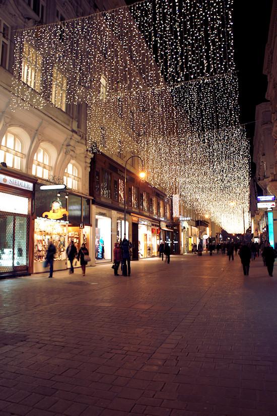 Xmas Lights Vienna: Hoher Markt Wien
