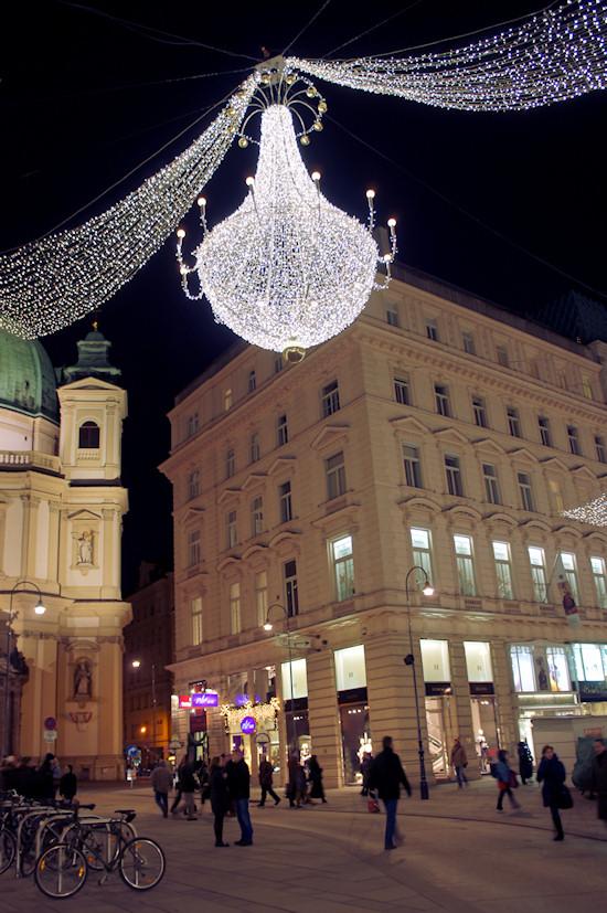 Xmas Lights Vienna: Graben Wien
