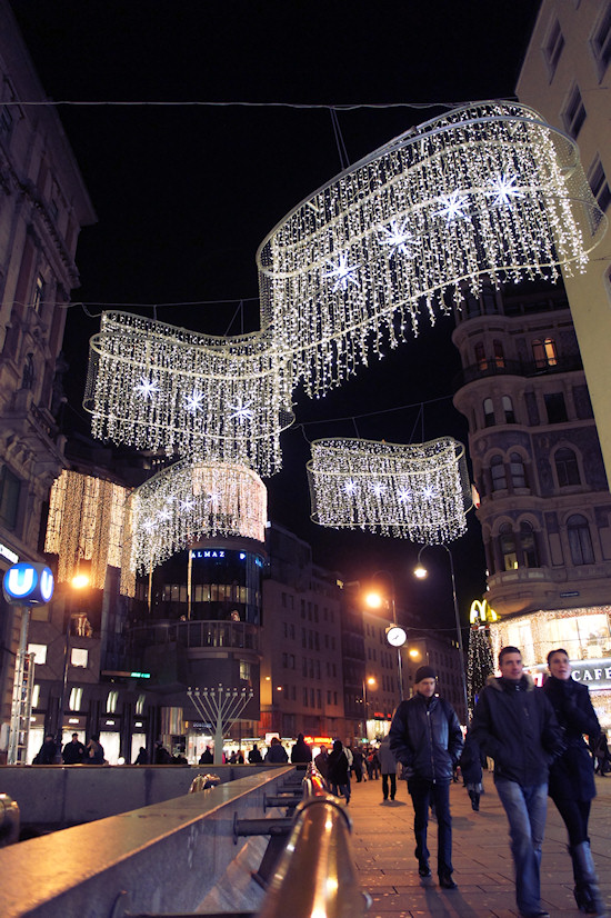 Xmas Lights Vienna: Kärtner Straße