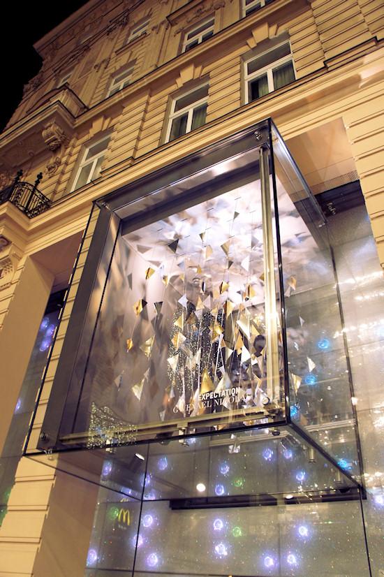 Xmas Lights Vienna: Swarovski Kärtner Straße Wien