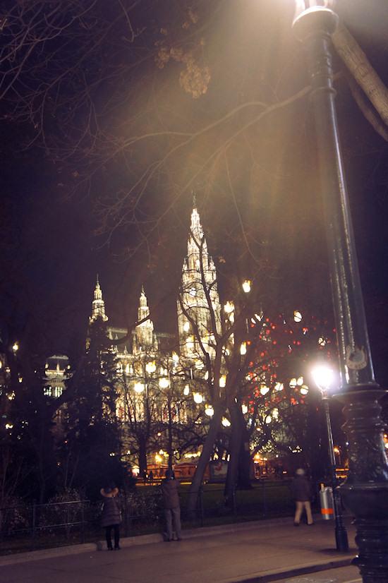 Xmas Lights Vienna: Rathaus Wien